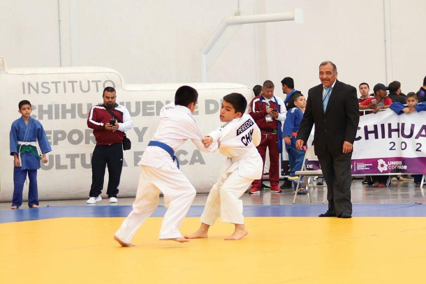 Con éxito se realiza la disciplina de judo en los Estatales Conade 2020